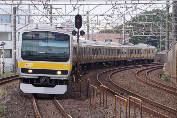 2017-10-08 総武線E231系ミツB82編成 千葉行き