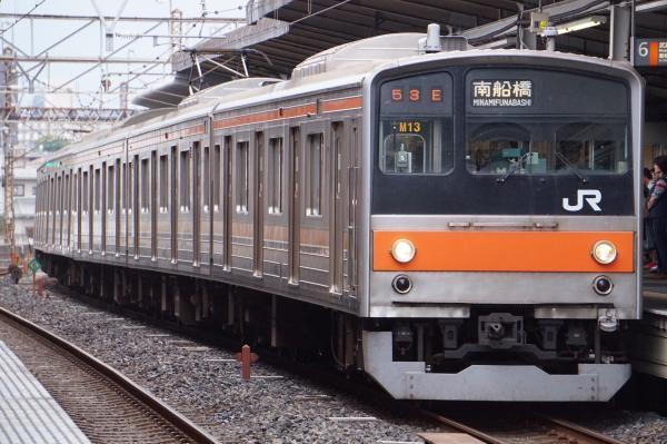 2017-10-08 武蔵野線205系ケヨM13編成 南船橋行き