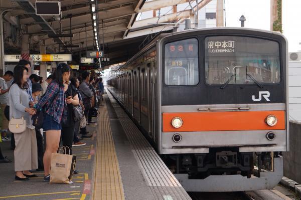 2017-10-08 武蔵野線205系ケヨM13編成 府中本町行き