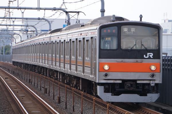 2017-10-08 武蔵野線205系ケヨM16編成 東京行き