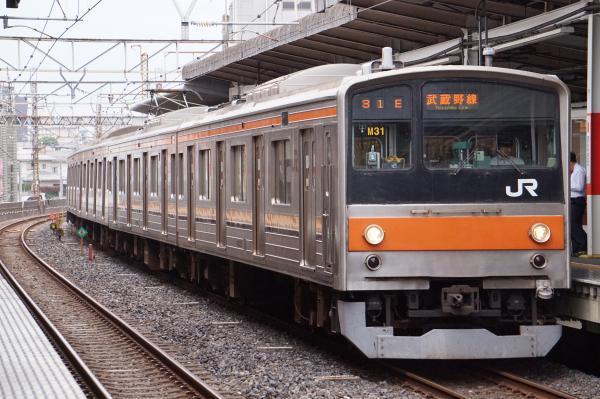 2017-10-08 武蔵野線205系ケヨM31編成 南船橋行き
