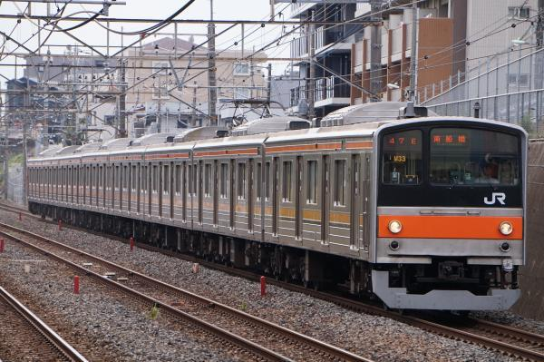 2017-10-08 武蔵野線205系ケヨM33編成 南船橋行き