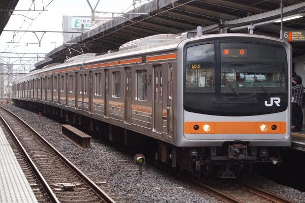 2017-10-08 武蔵野線205系ケヨM35編成 東京行き