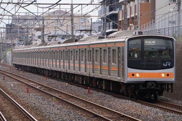 2017-10-08 武蔵野線205系ケヨM65編成 南船橋行き