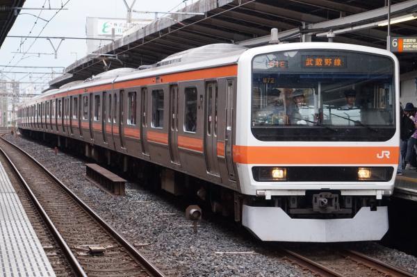 2017-10-08 武蔵野線209系ケヨM72編成 東京行き