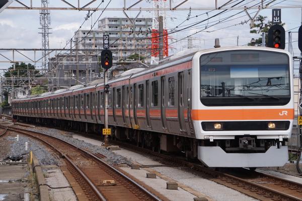 2017-10-08 武蔵野線209系ケヨM73編成 東京行き