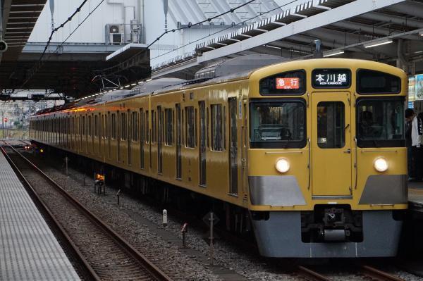 2017-10-14 西武2067F 急行本川越行き 2671レ