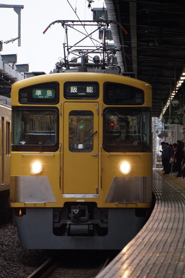 2017-10-14 西武2461F_2087F 準急飯能行き 4121レ