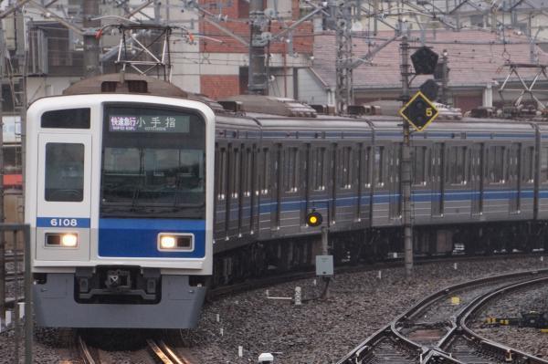 2017-10-14 西武6108F 快速急行小手指行き 1805レ
