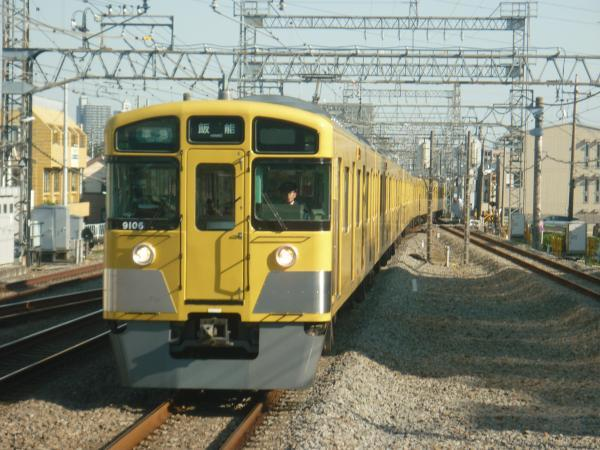 2014-10-19 西武9106F 準急飯能行き 4133レ