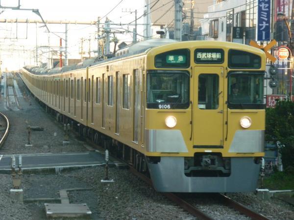 2014-11-15 西武9106F 準急西武球場前行き1 4309レ