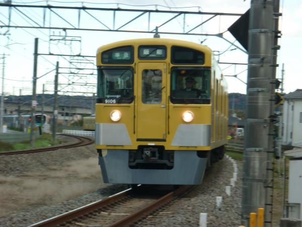 2014-12-06 西武9106F 準急飯能行き 4127レ
