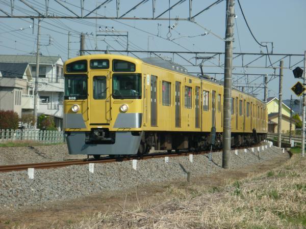 2015-03-30 西武9106F 準急飯能行き 4137レ