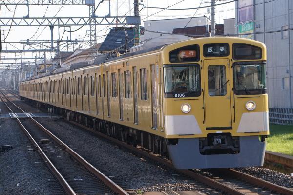 2016-11-05 西武9106F 急行飯能行き 2137レ