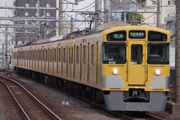 2017-09-30 西武9106F 準急西武球場前行き 4309レ