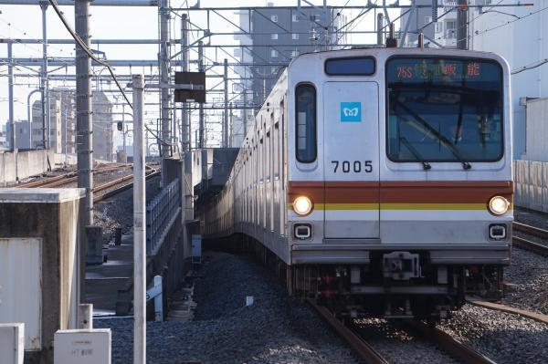 2017-11-03 メトロ7105F 快速飯能行き 1703レ