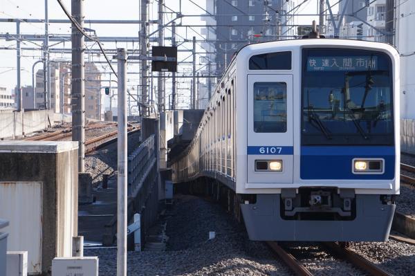 2017-11-03 西武6107F 快速入間市行き 1801レ