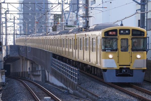 2017-11-03 西武9104F 急行飯能行き 2103レ