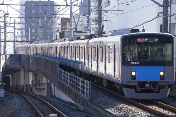 2017-11-03 西武20102F 急行飯能行き 2109レ