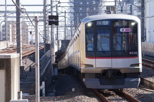 2017-11-03 東急5169F 快速飯能行き 1751レ
