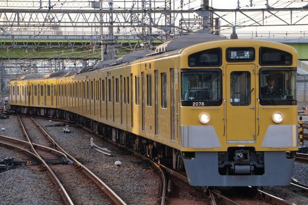 2017-11-03 西武2077F 回送