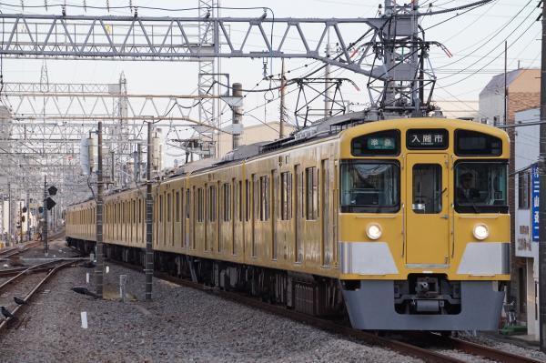 2017-11-03 西武2461F_2091F 準急入間市行き 4307レ