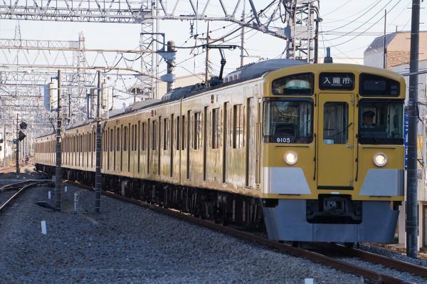 2017-11-03 西武9105F 準急入間市行き 4305レ
