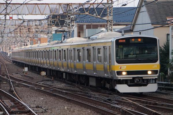 2017-11-05 総武線E231系ミツB8編成 千葉行き1