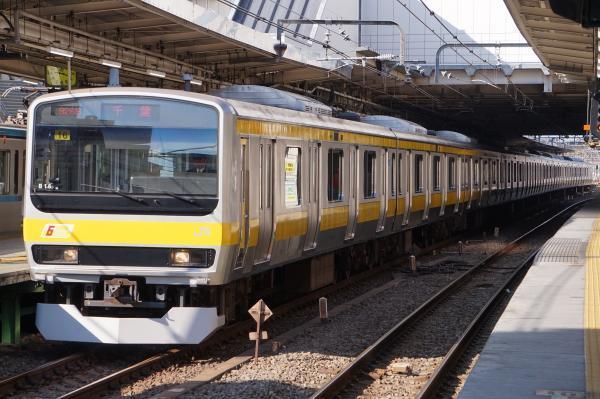 2017-11-05 総武線E231系ミツB16編成 千葉行き