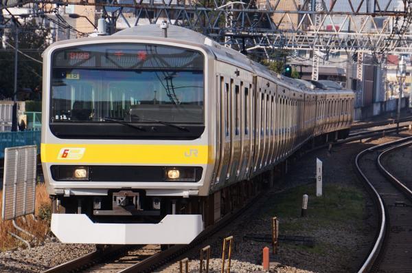 2017-11-05 総武線E231系ミツB18編成 千葉行き