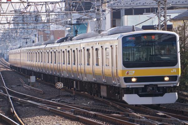 2017-11-05 総武線E231系ミツB28編成 千葉行き