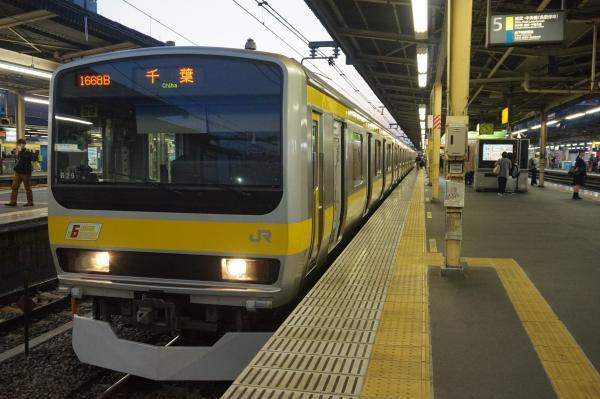 2017-11-05 総武線E231系ミツB29編成 千葉行き3