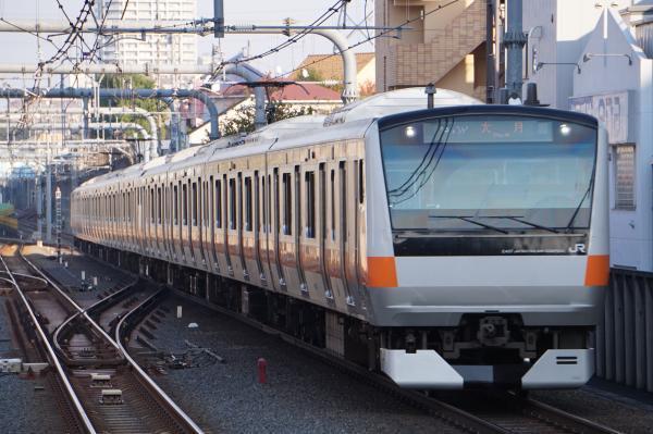 2017-11-05 中央線E233系トタH53編成 大月行き