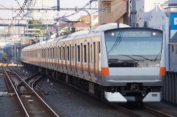 2017-11-05 中央線E233系トタH55編成 青梅特快青梅行き