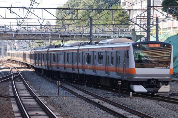 2017-11-05 中央線E233系トタT17編成 快速東京行き