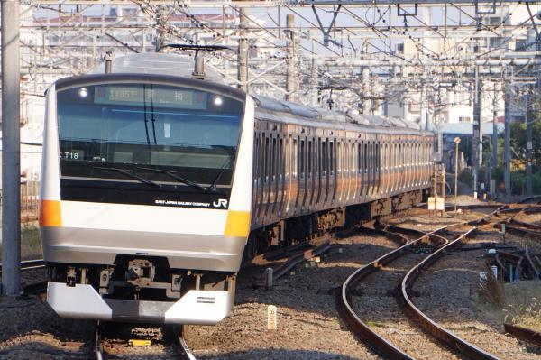 2017-11-05 中央線E233系トタT18編成 青梅行き