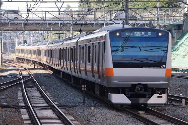 2017-11-05 中央線E233系トタT19編成 青梅特快東京行き
