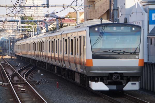2017-11-05 中央線E233系トタT30編成 豊田行き