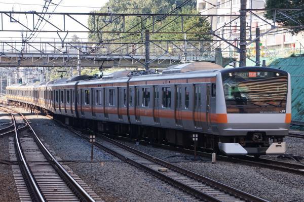 2017-11-05 中央線E233系トタT36編成 快速東京行き