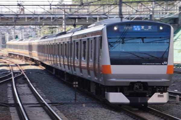2017-11-05 中央線E233系トタT39編成 中央特快東京行き