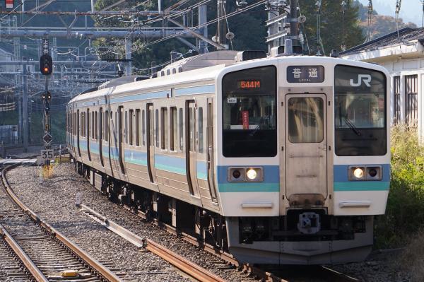 2017-11-05 中央本線211系ナノN605編成 高尾行き