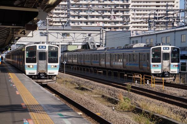 2017-11-05 中央本線211系ナノN613編成 N606編成