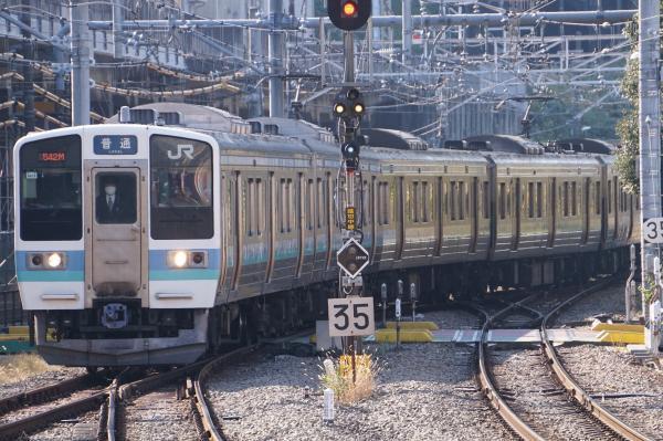 2017-11-05 中央本線211系ナノN613編成 高尾行き
