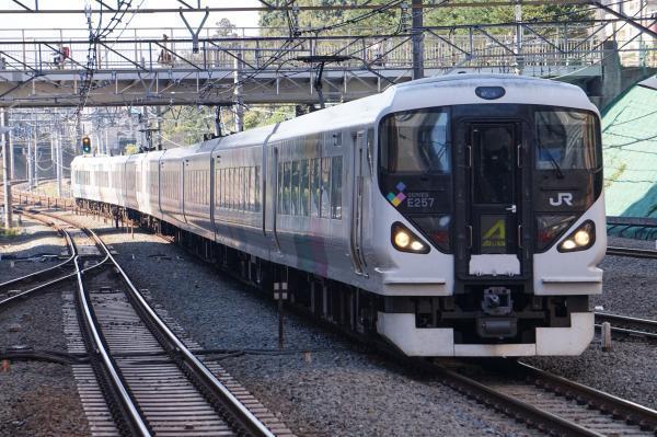 2017-11-05 中央本線E257系モトM-102編成 あずさ号新宿行き