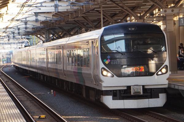 2017-11-05 中央本線E257系モトM-105編成 あずさ号松本行き