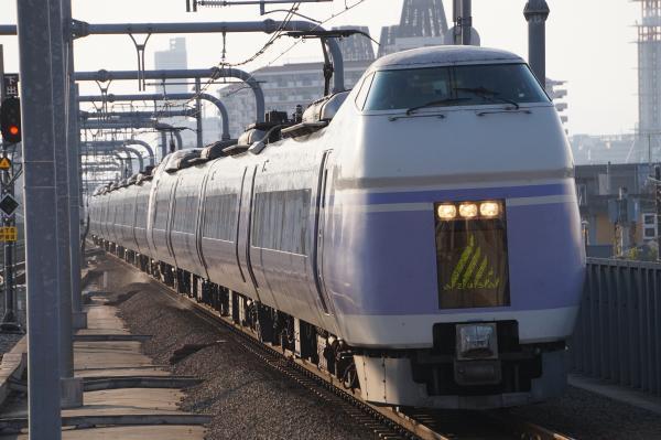 2017-11-05 中央本線E351系モトS22編成 スーパーあずさ号新宿行き