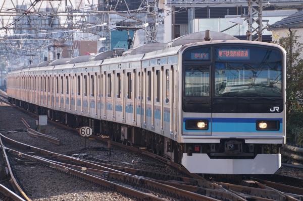 2017-11-05 東西線E231系ミツK5編成 三鷹行き