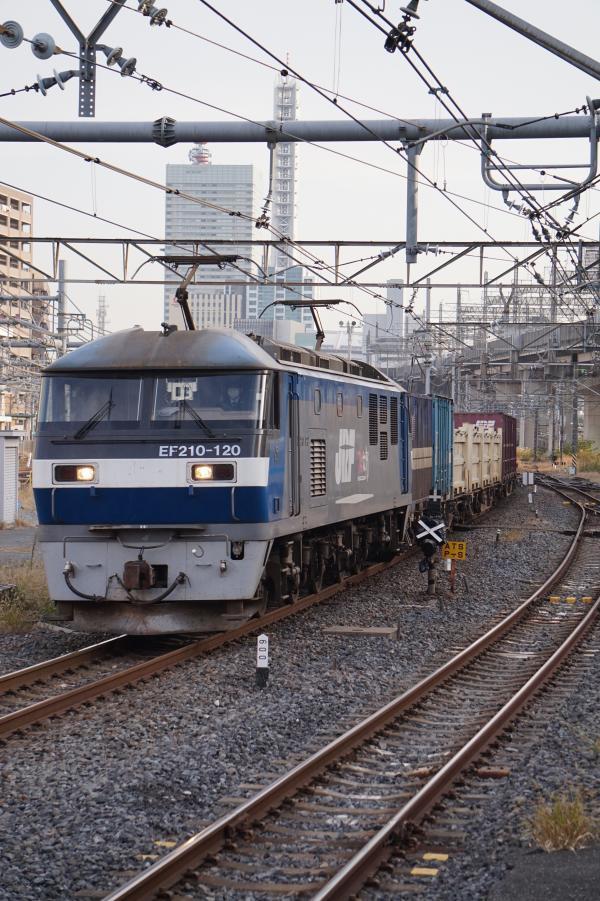 2017-11-13 EF210-120牽引 貨物列車