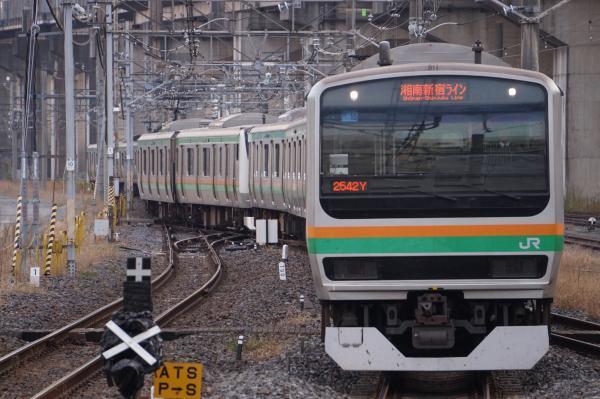 2017-11-13 湘南新宿ラインE231系ヤマU16編成 小金井行き