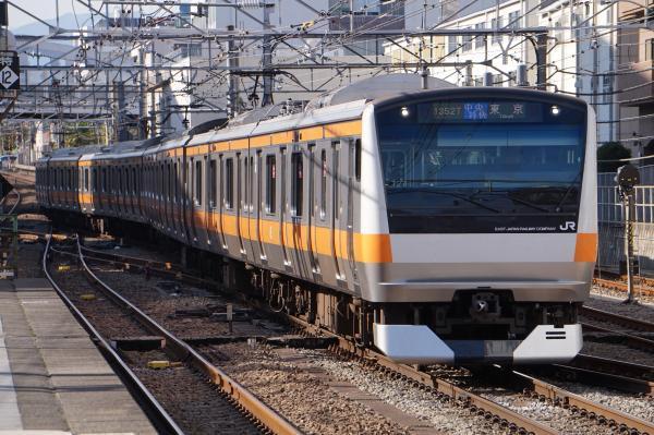 2017-11-13 中央線E233系トタT27編成 中央特快東京行き